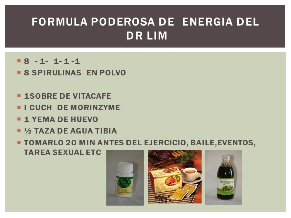 RECETA DEL DR. LIM