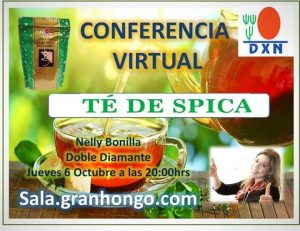 Te invitamos a la Conferencia Virtual GRATIS, este jueves 6 de Octubre apartir de las 8:00 pm. http://sala.granhongo.com